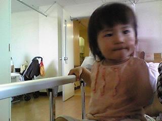 入院21日目 蕾の面会